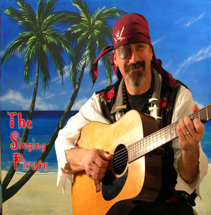 Jeff Munsick, The Singing Pirate, Recording, Mixing and Mastering at CAS Music