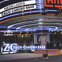 Zach Caruso, Neon Lights, arranging, key, recording, mixing and mastering by cas music