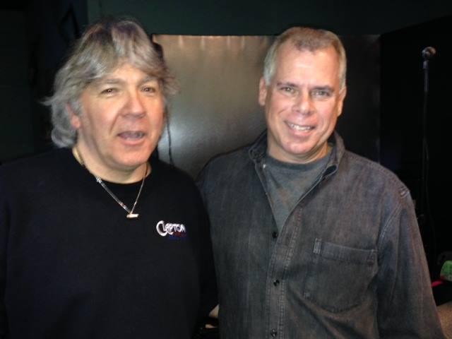 Godfrey Townsend with Chris Orazi