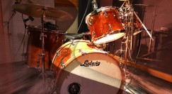 The Ludwig Classic Babinga 5-piece - the newest addition to the CAS Music Studio.