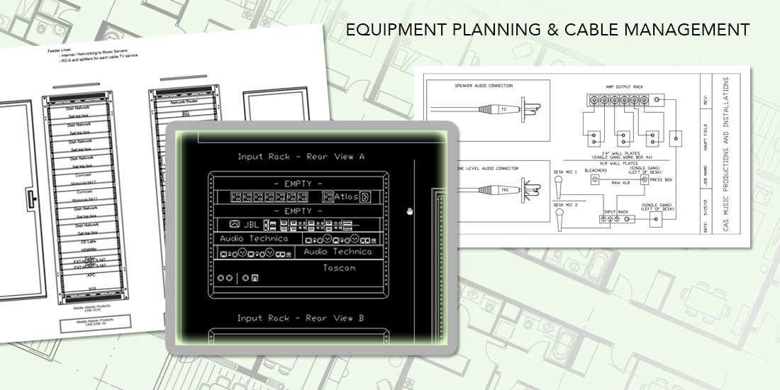Audio-Visual Design Equipment Planning